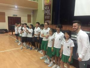 Matt Windle at Garden Internationa School, Kuala Lumpur